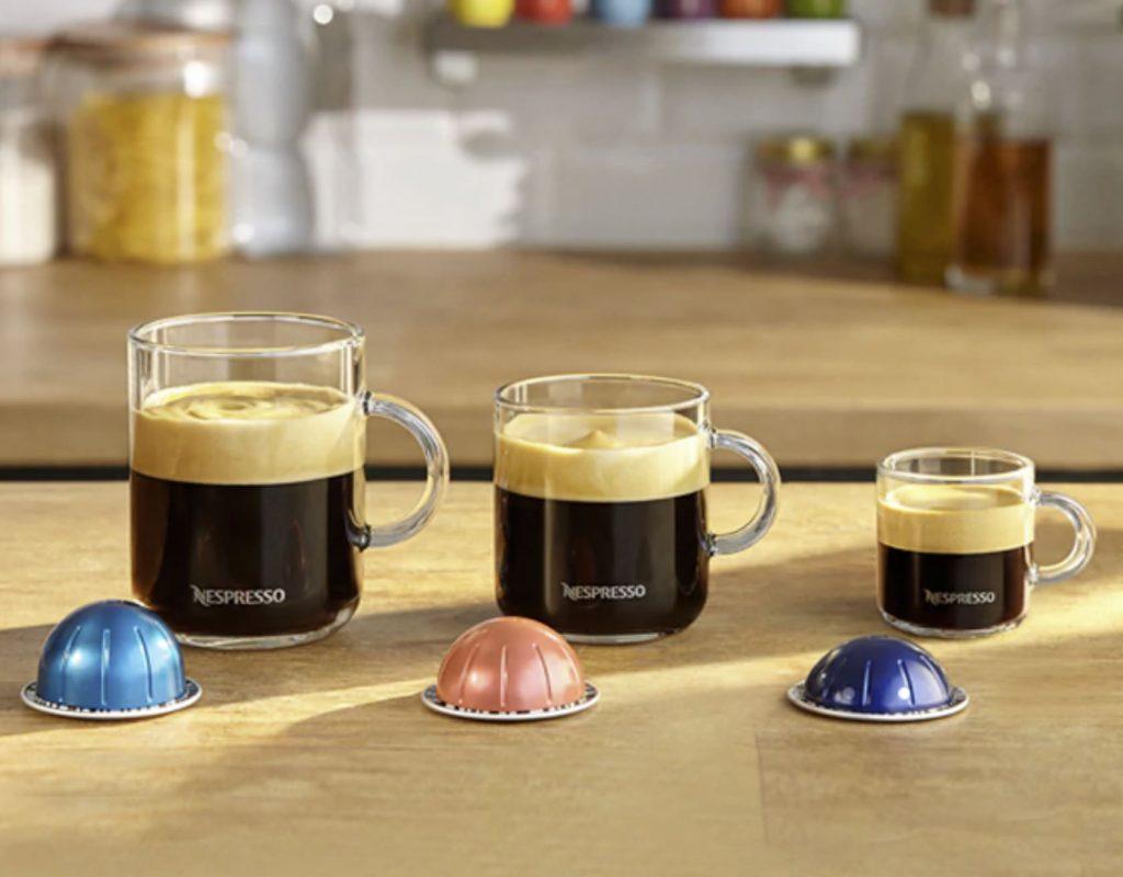 dimensioni caffè vertuo