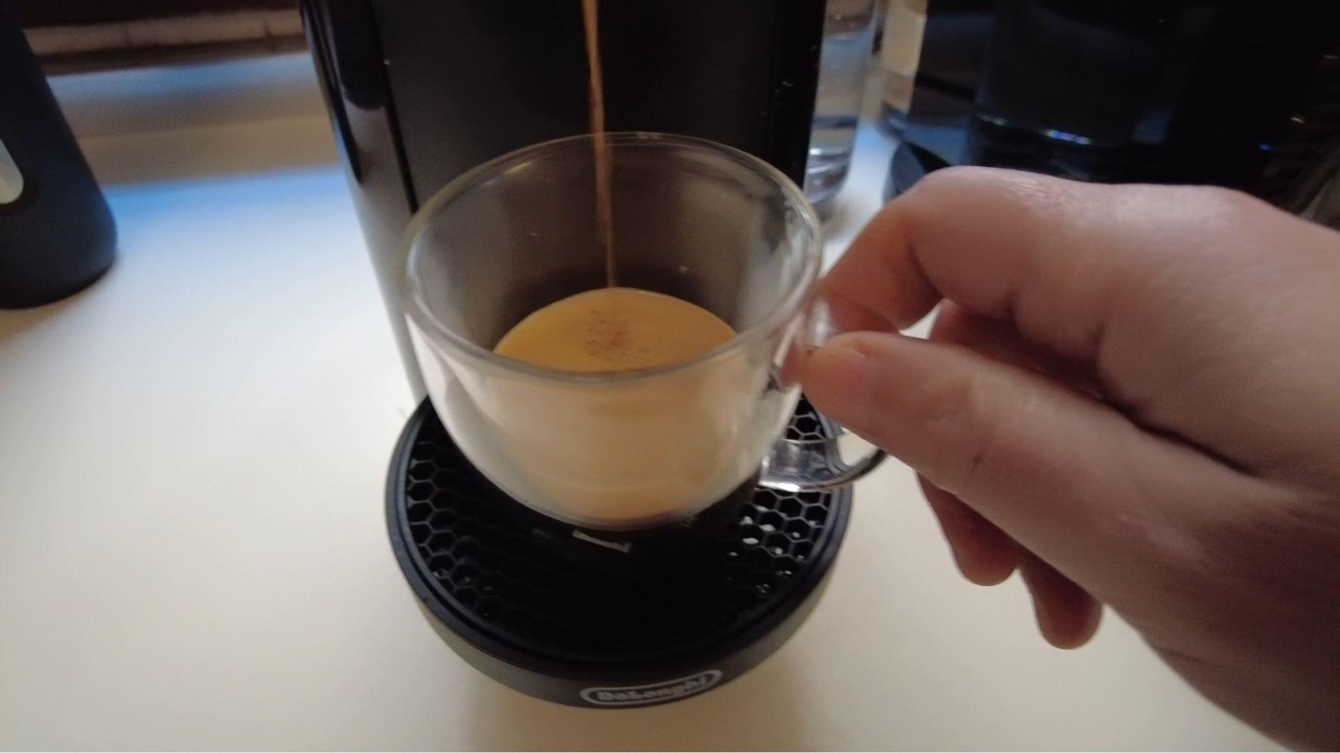 nespresso vertuo caffè