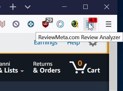 scoprire le recensioni false su Amazon