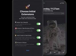 Come installare estensioni nel browser su iOS
