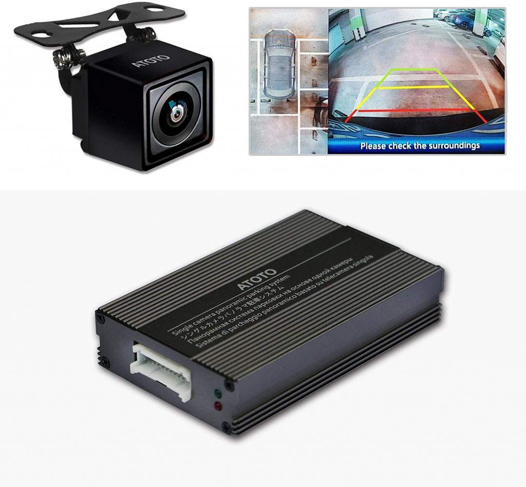 Atoto videocamera posteriore con visione panoramica