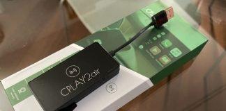 recensione CPLAY2air, carplay wireless per tutti