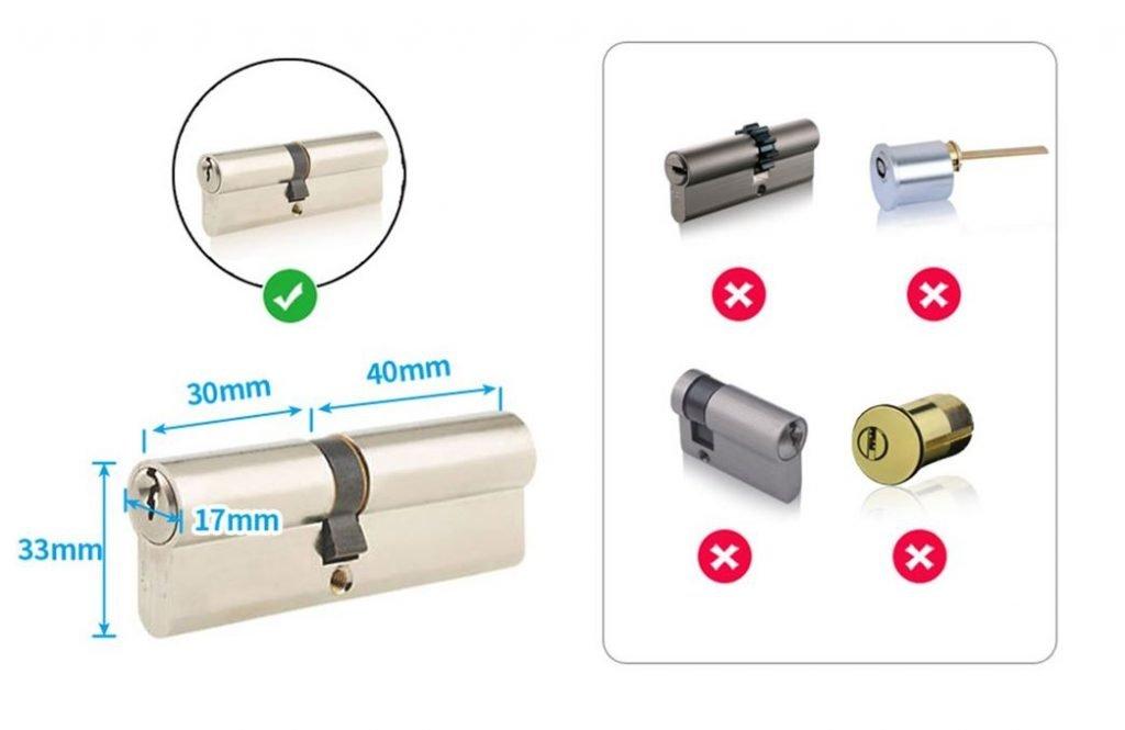 serrature compatibili